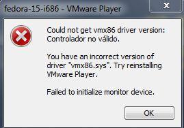 Eliminar error de Vmware y Avast antivirus