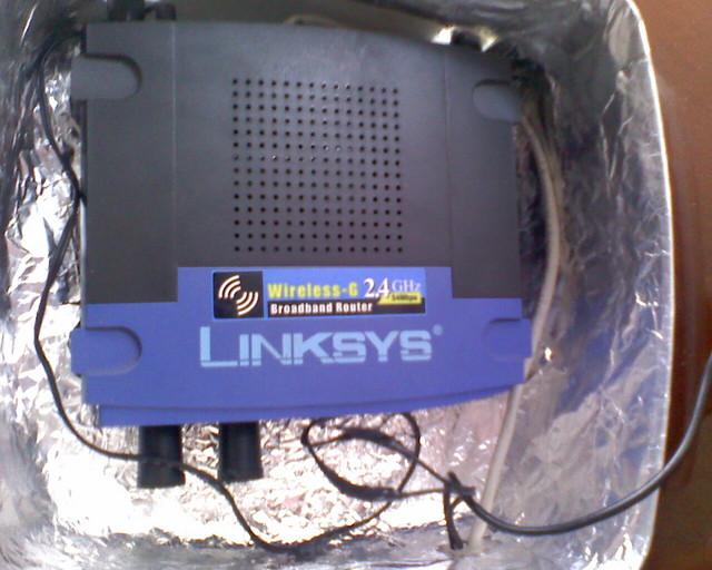 Modificar un AP WRT54G para exteriores con DD-WRT