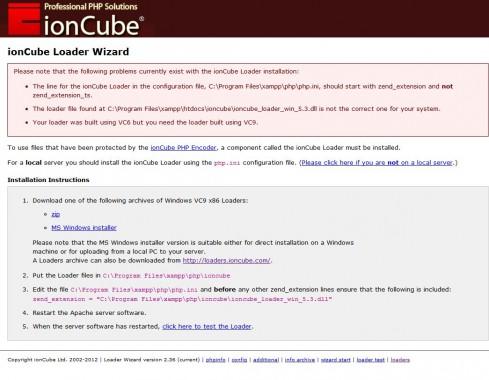 xampp-ioncube-windows7